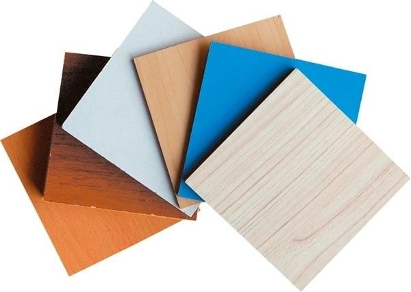 Chipboard Plywood Laminated Particle Board Marble Pattern Customized Size Thickness