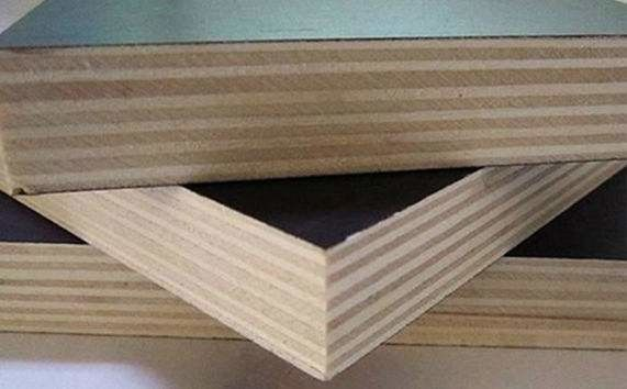 Moisture Proof Brown Plywood Wall Paneling / Film Faced Shuttering Ply 2-30mm Thickness