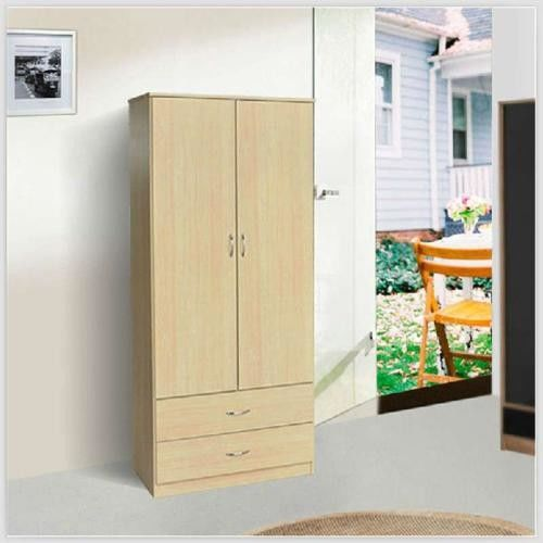UV Coated Melamine Bathroom Cabinets , Lacquer Surface Birch Plywood Wardrobe