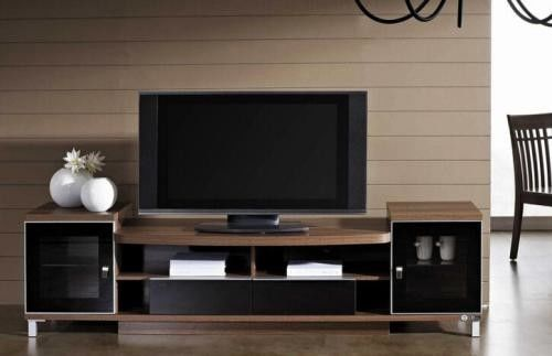 Fashion Design Particle Board TV Stand For Living Room Furniture Decor 3mm MDF