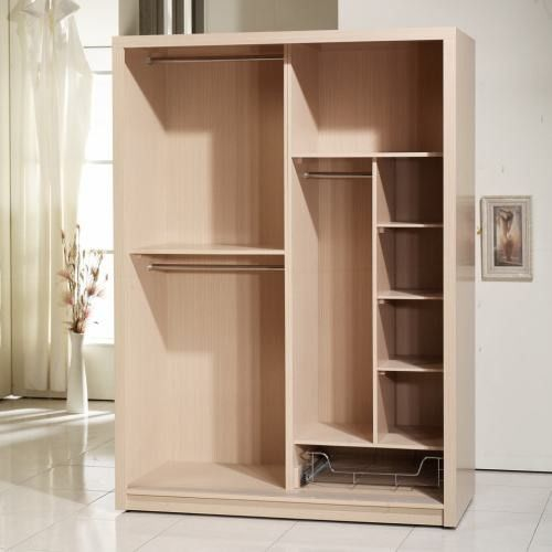 Modern Style Particle Board Wardrobe With no door for bedroom furniture